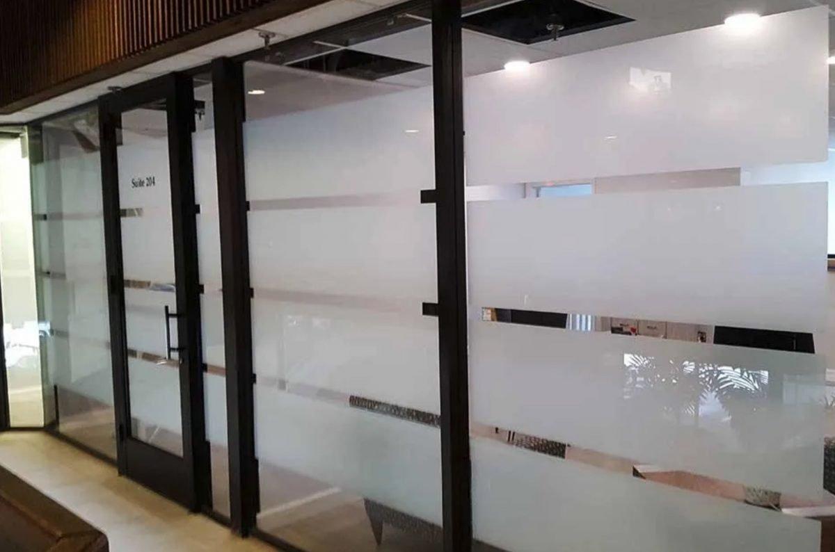 Decorative Window Film - 5 Reasons It's Preferred For Privacy & Branding - Decorative Glass Films in Omaha, Nebraska