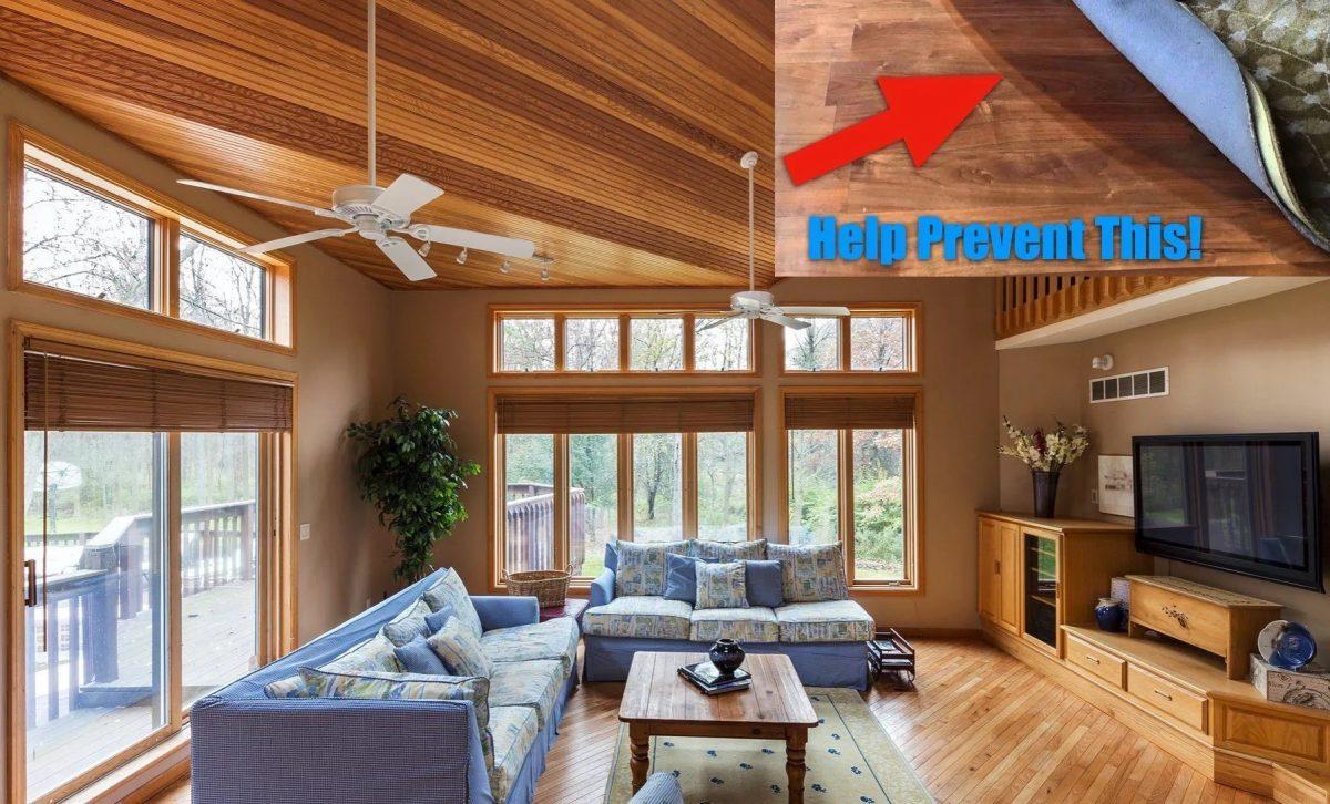 Sun Damaged Floors & Furnishings - How To Protect Against Fading - Home Window Tinting in Omaha, Nebraska
